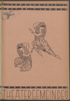 Monatsheft der Theatergemeinde e.V. Stettin. Jg. 5, 1926 H. Nr. 7