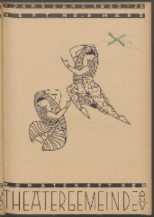 Monatsheft der Theatergemeinde e.V. Stettin. Jg. 5, 1926 H. Nr. 9