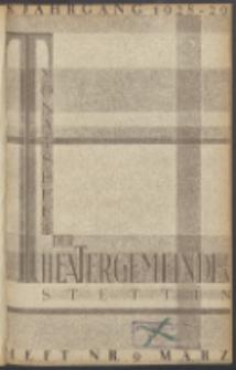 Monatsheft der Theatergemeinde e.V. Stettin. Jg. 8, 1929 H. Nr. 9