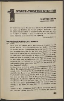 Stadt-Theater Stettin. 1932 H. 4