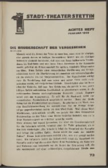 Stadt-Theater Stettin. 1933 H. 8