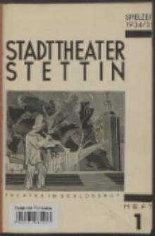 Stadt-Theater Stettin. 1934 H. 1