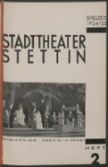 Stadt-Theater Stettin. 1934 H. 2