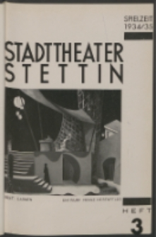 Stadt-Theater Stettin. 1934 H. 3