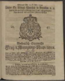 Wochentlich-Stettinische Frag- und Anzeigungs-Nachrichten. 1743 No. 41
