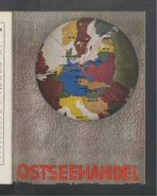 Ostsee-Handel : Wirtschaftszeitschrift für der Wirtschaftsgebiet des Gaues Pommern und der Ostsee und Südostländer. Jg. 19, 1939 Nr. 2