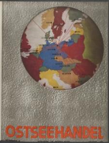 Ostsee-Handel : Wirtschaftszeitschrift für der Wirtschaftsgebiet des Gaues Pommern und der Ostsee und Südostländer. Jg. 19, 1939 Nr.6