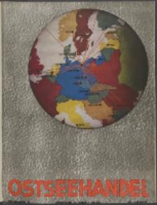 Ostsee-Handel : Wirtschaftszeitschrift für der Wirtschaftsgebiet des Gaues Pommern und der Ostsee und Südostländer. Jg. 19, 1939 Nr. 7