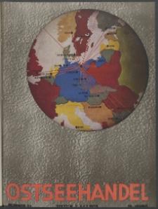 Ostsee-Handel : Wirtschaftszeitschrift für der Wirtschaftsgebiet des Gaues Pommern und der Ostsee und Südostländer. Jg. 19, 1939 Nr. 13