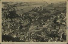 Zehden an Oder, Original Fliegeraufnahme