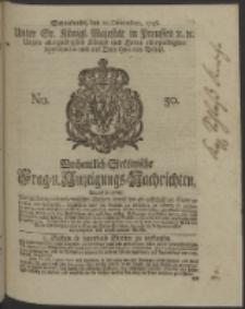 Wochentlich-Stettinische Frag- und Anzeigungs-Nachrichten. 1746 No. 50