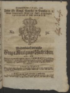 Wochentlich-Stettinische Frag- und Anzeigungs-Nachrichten. 1756 No. 32 + Anhang