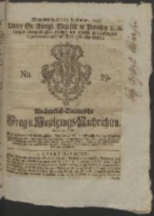 Wochentlich-Stettinische Frag- und Anzeigungs-Nachrichten. 1756 No. 39 + Anhang