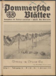 Pommersche Blätter : Kampfblatt für Erzieher und Schule. Jg. 64, 1939 Folge 4
