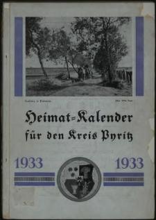 Heimat = Kalender für den Kreis Pyritz.1933