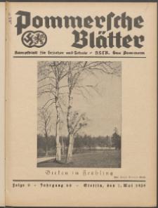 Pommersche Blätter : Kampfblatt für Erzieher und Schule. Jg. 64, 1939 Folge 9