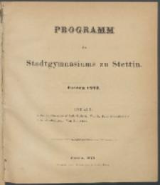 Programm 1873