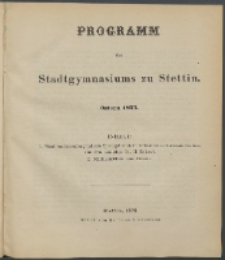Programm 1875