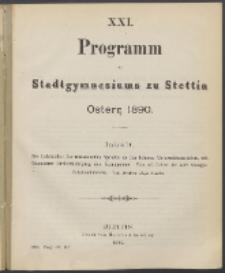 Programm 1890