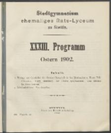 Programm 1902