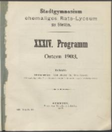 Programm 1903