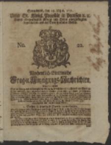 Wochentlich-Stettinische Frag- und Anzeigungs-Nachrichten. 1751 No. 22