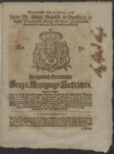 Wochentlich-Stettinische Frag- und Anzeigungs-Nachrichten. 1751 No. 31