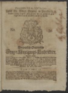 Wochentlich-Stettinische Frag- und Anzeigungs-Nachrichten. 1751 No. 34