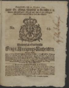 Wochentlich-Stettinische Frag- und Anzeigungs-Nachrichten. 1751 No. 44