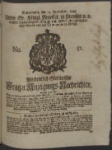 Wochentlich-Stettinische Frag- und Anzeigungs-Nachrichten. 1748 No. 51