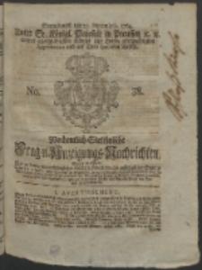 Wochentlich-Stettinische Frag- und Anzeigungs-Nachrichten. 1764 No. 38 + Anhang