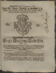 Wochentlich-Stettinische Frag- und Anzeigungs-Nachrichten. 1758 No. 39