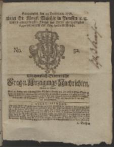 Wochentlich-Stettinische Frag- und Anzeigungs-Nachrichten. 1758 No. 52