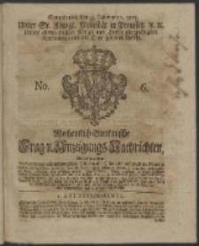 Wochentlich-Stettinische Frag- und Anzeigungs-Nachrichten. 1753 No. 6 + Anhang