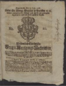 Wochentlich-Stettinische Frag- und Anzeigungs-Nachrichten. 1766 No. 20 + Anhang