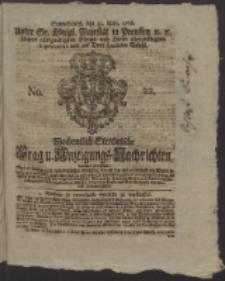 Wochentlich-Stettinische Frag- und Anzeigungs-Nachrichten. 1766 No. 22 + Anhang