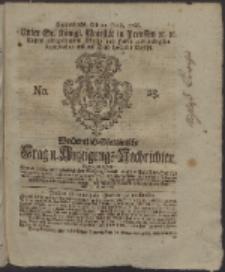 Wochentlich-Stettinische Frag- und Anzeigungs-Nachrichten. 1766 No. 25 + Anhang