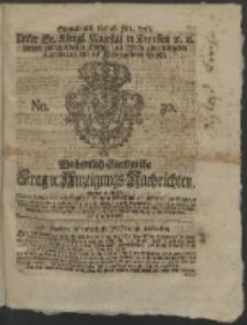 Wochentlich-Stettinische Frag- und Anzeigungs-Nachrichten. 1766 No. 30 + Anhang