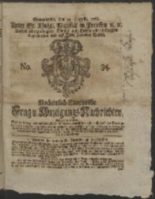 Wochentlich-Stettinische Frag- und Anzeigungs-Nachrichten. 1766 No. 34 + Anhang