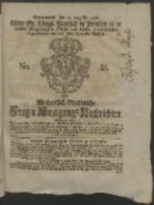 Wochentlich-Stettinische Frag- und Anzeigungs-Nachrichten. 1766 No. 35 + Anhang