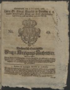 Wochentlich-Stettinische Frag- und Anzeigungs-Nachrichten. 1766 No. 49 + Anhang