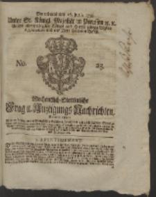 Wochentlich-Stettinische Frag- und Anzeigungs-Nachrichten. 1759 No. 25 + Anhang