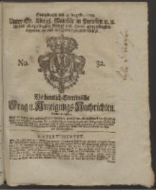 Wochentlich-Stettinische Frag- und Anzeigungs-Nachrichten. 1759 No. 32 + Anhang