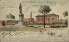 Gruss aus Alt Damm, Kaiser Wilhelm Denkmal : 2. Train Kaserne