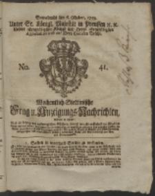 Wochentlich-Stettinische Frag- und Anzeigungs-Nachrichten. 1759 No. 41