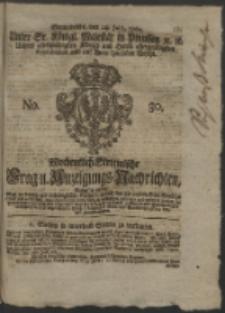 Wochentlich-Stettinische Frag- und Anzeigungs-Nachrichten. 1762 No. 30 + Anhang