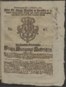 Wochentlich-Stettinische Frag- und Anzeigungs-Nachrichten. 1765 No. 41 + Anhang