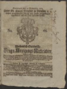 Wochentlich-Stettinische Frag- und Anzeigungs-Nachrichten. 1765 No. 44 + Anhang