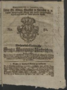 Wochentlich-Stettinische Frag- und Anzeigungs-Nachrichten. 1762 No. 50 + Anhang