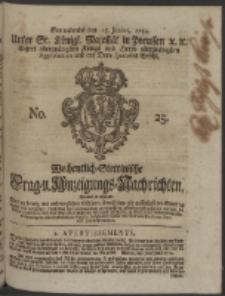 Wochentlich-Stettinische Frag- und Anzeigungs-Nachrichten. 1754 No. 25 + Anhang
